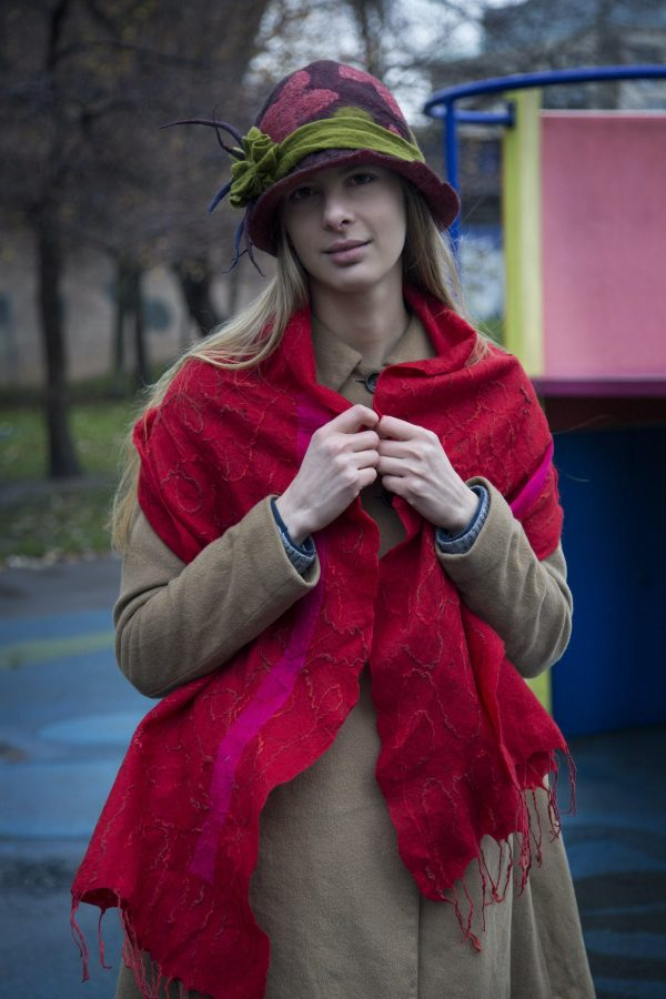 bombyxmori hand made scarf