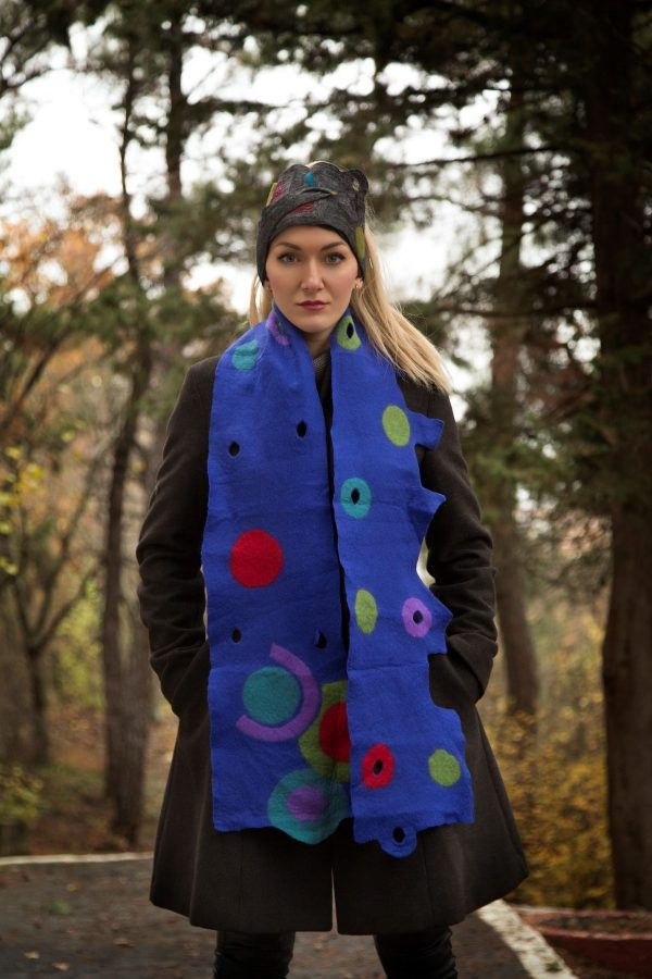 bombyxmori hand-crafted scarf