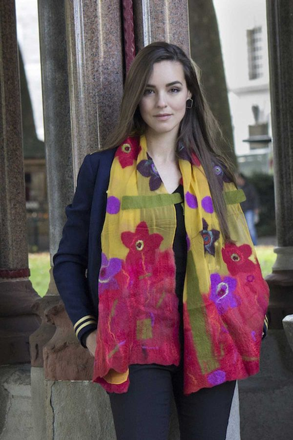 bombyxmori wearable art - scarf